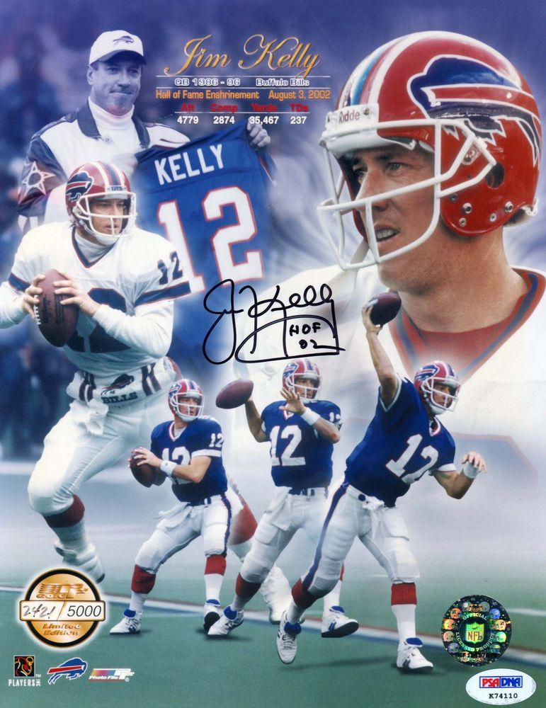 promo code 50fff 15bde Jim Kelly | PSA AutographFacts™