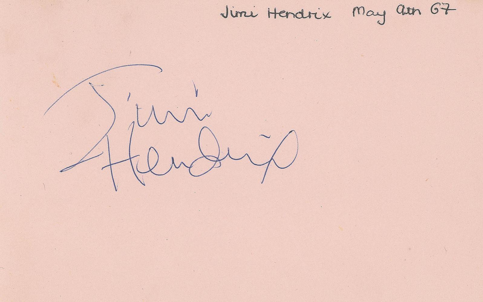 jimi hendrix psa autographfacts�