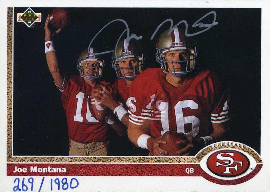 Joe Montana Psa Autographfacts
