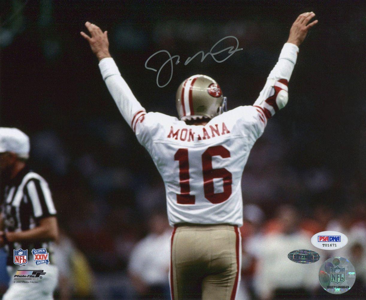 finest selection 95073 ff0b5 Football - Joe Montana - Images | PSA AutographFacts™