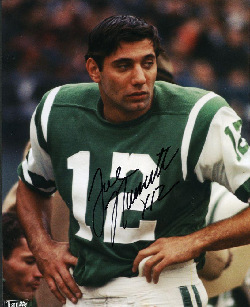 buy popular 876ff 6c028 Football - Joe Namath - Images | PSA AutographFacts™