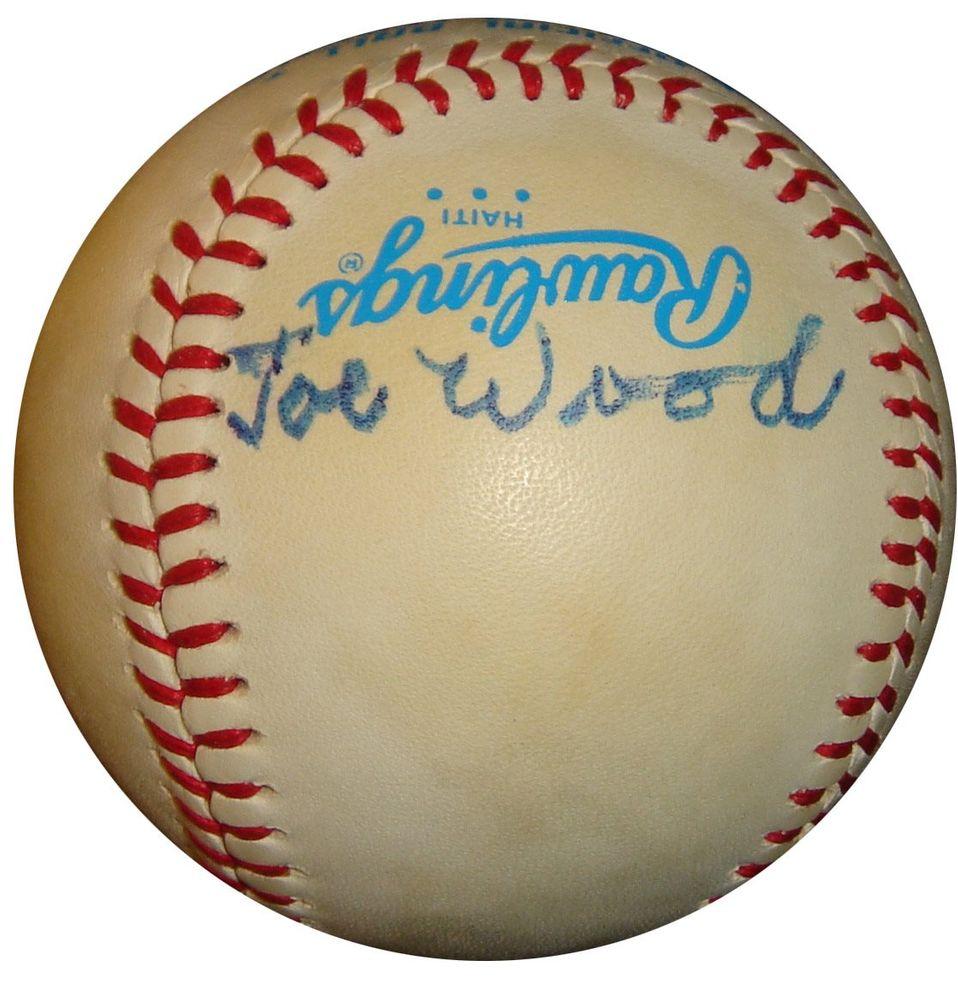 Smoky Joe Wood Psa Autographfacts
