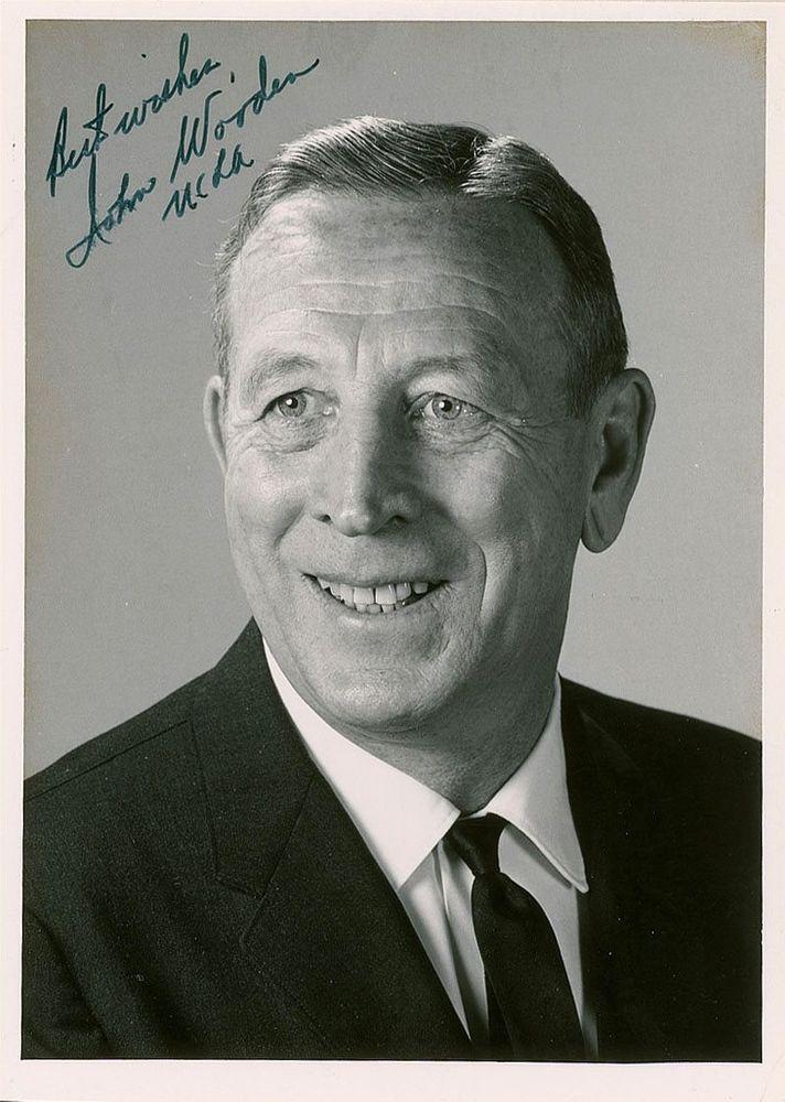 John Wooden | PSA AutographFacts™