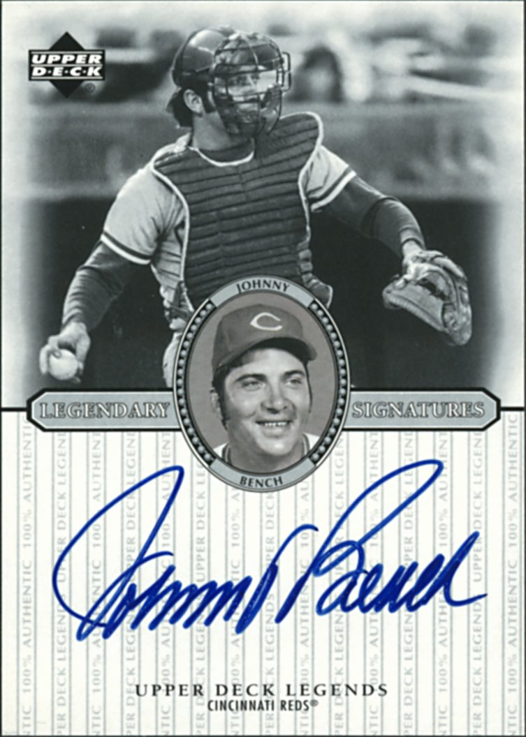 Johnny Bench Autographed Baseball Part - 46: Johnny Bench. View Gallery. AUTOGRAPH ...
