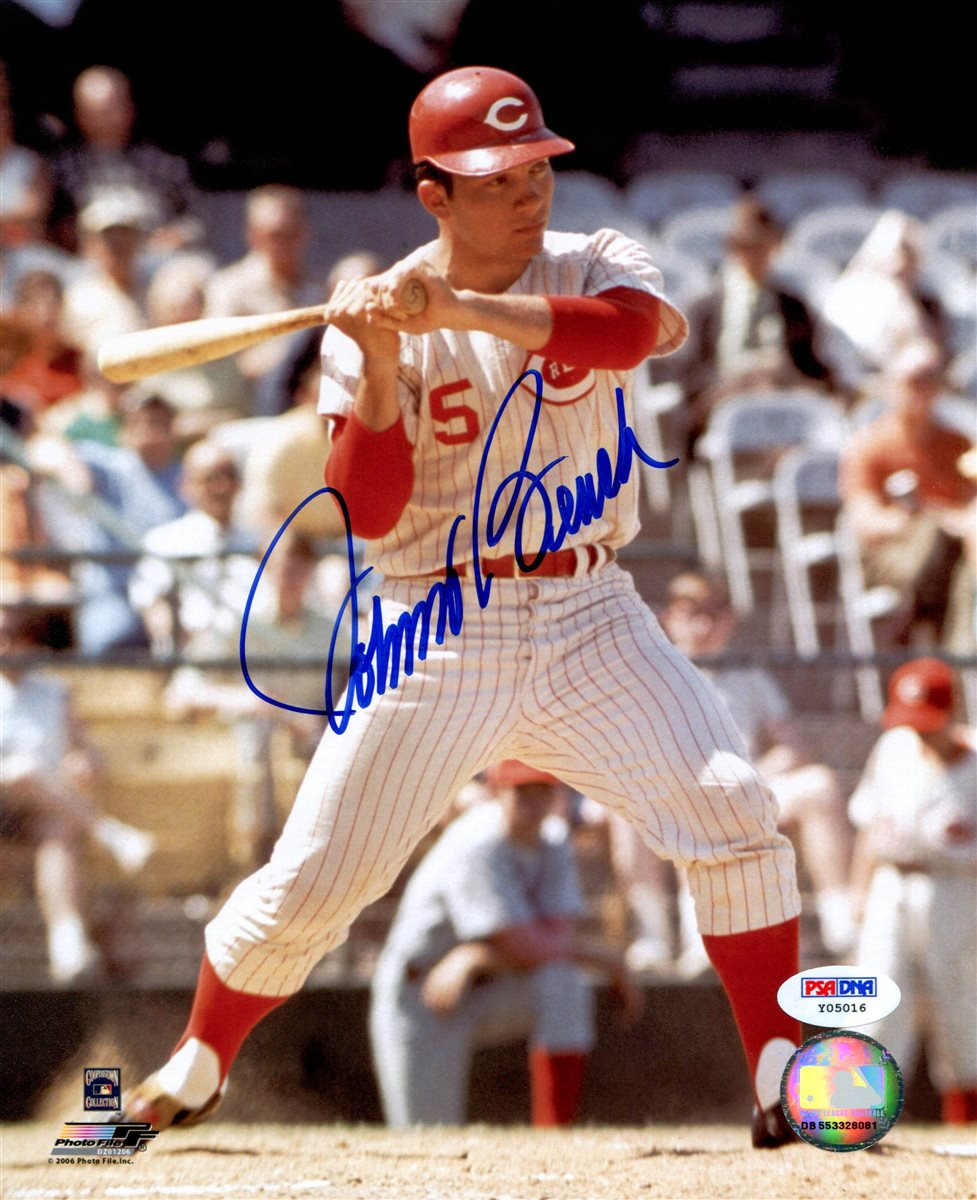 Johnny Bench Autographed Baseball Part - 28: Johnny Bench. View Gallery. AUTOGRAPH ...