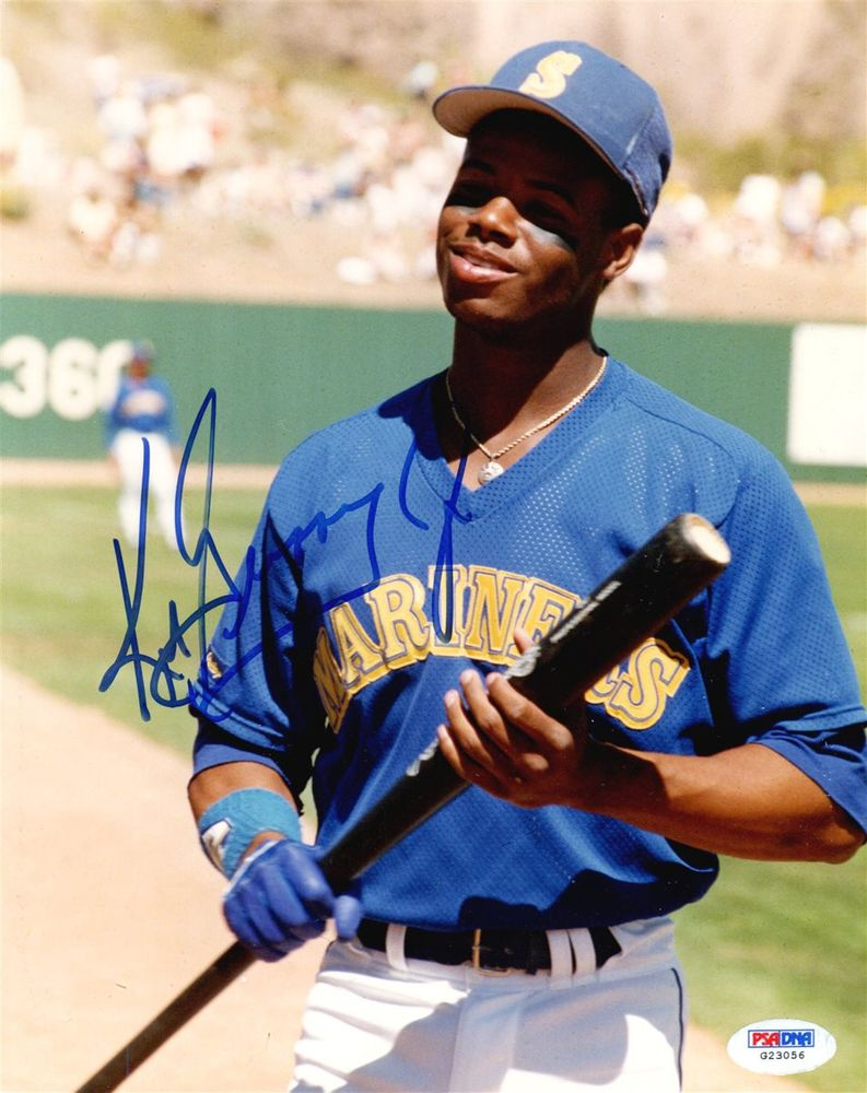 Baseball Ken Griffey Jr Images Psa Autographfacts