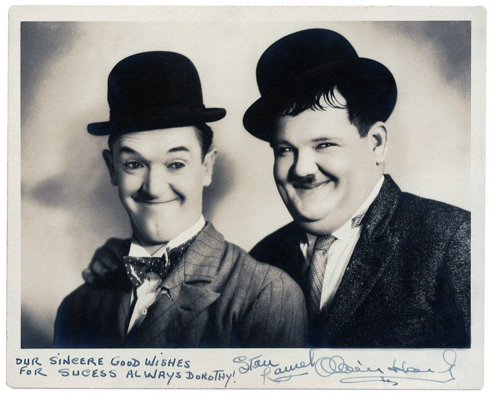 movies and television - laurel and hardy