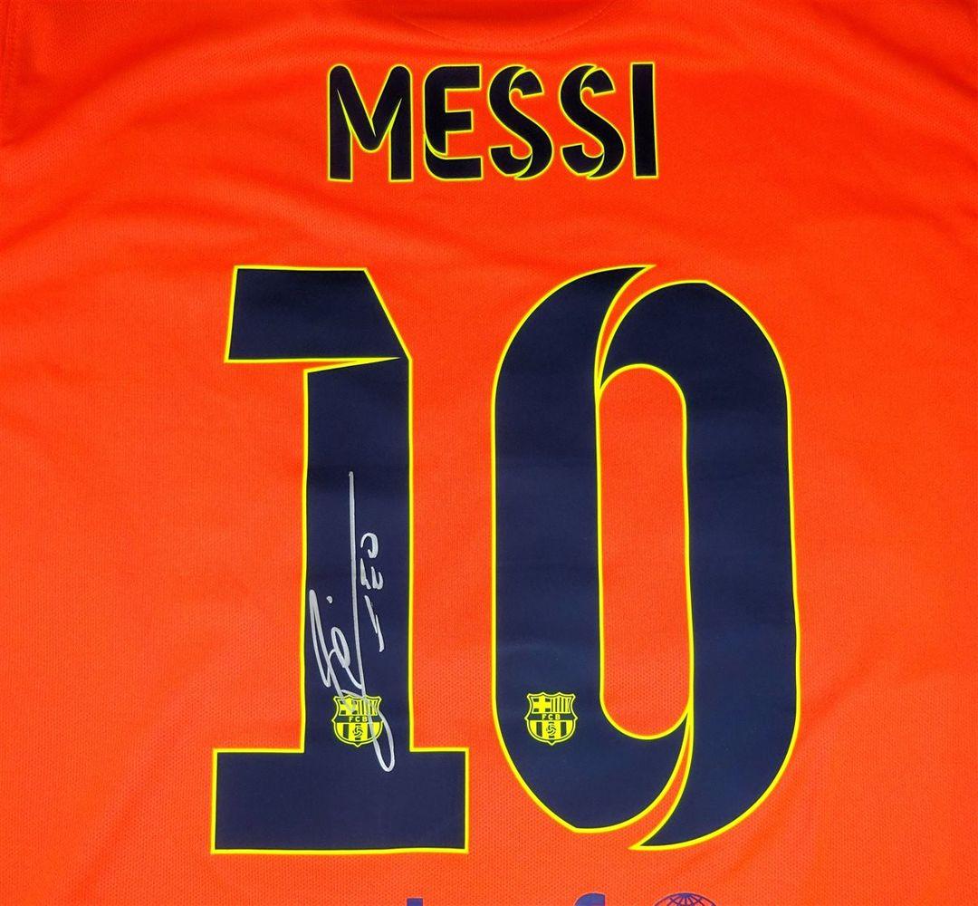 size 40 12ce4 3e7ae Lionel Messi | PSA AutographFacts™