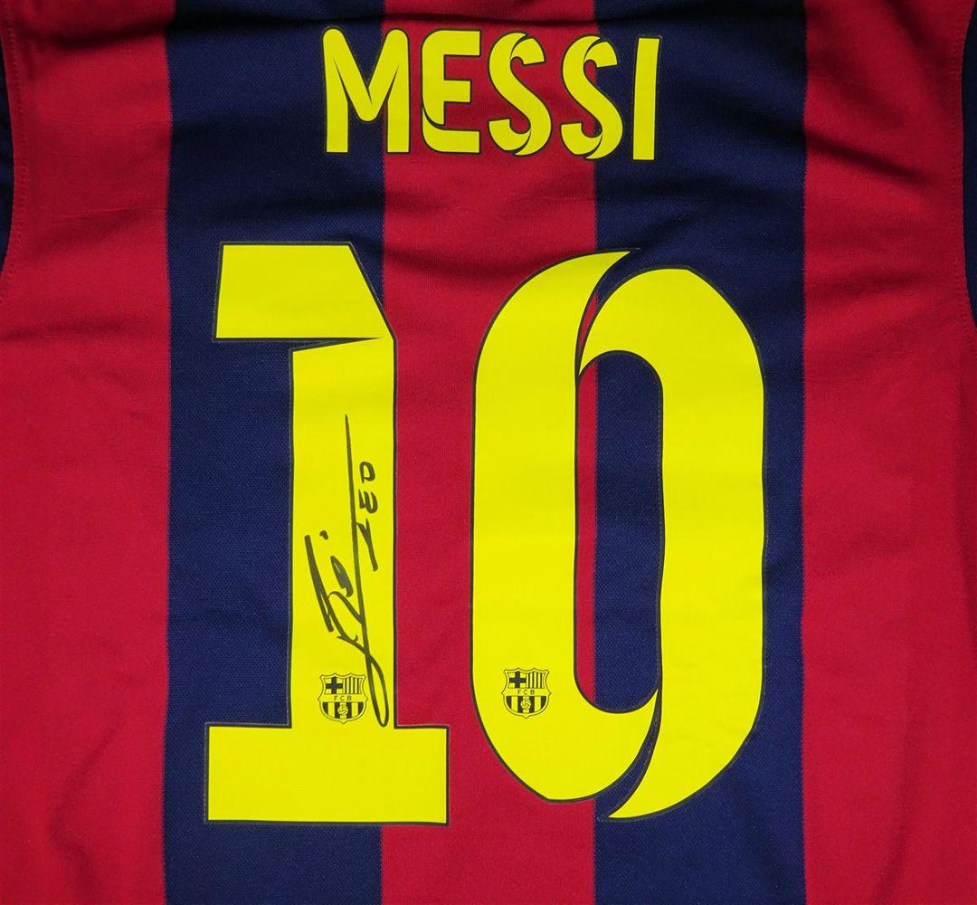 size 40 69c92 d196a Lionel Messi   PSA AutographFacts™