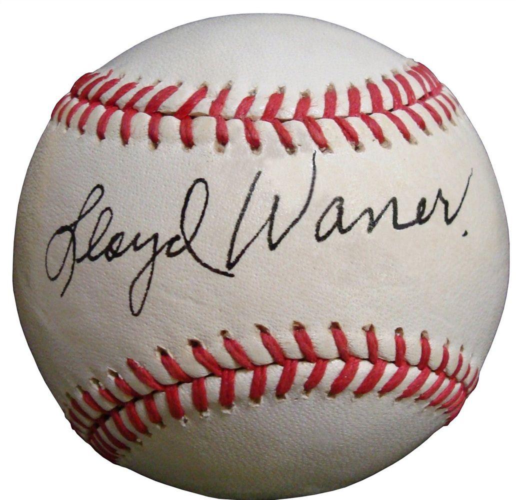 Lloyd Waner Psa Autographfacts