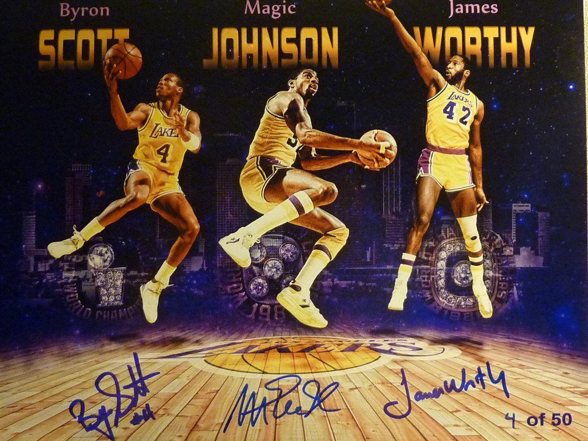 Basketball James Worthy