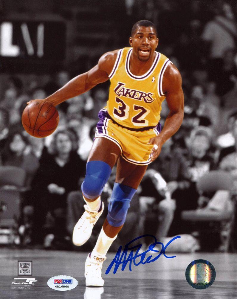 Magic Johnson | PSA AutographFacts™