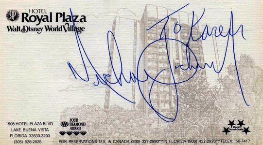 Michael Jackson Personalized Signature