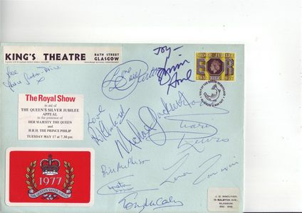 Michael Jackson Signed Envelope