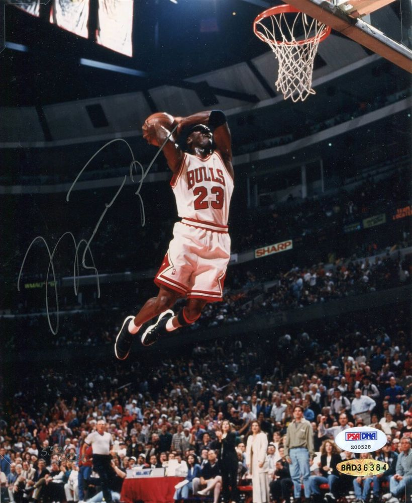 Michael Jordan Signed Photo