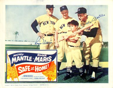 Mickey Mantle-Roger Maris Signed Print