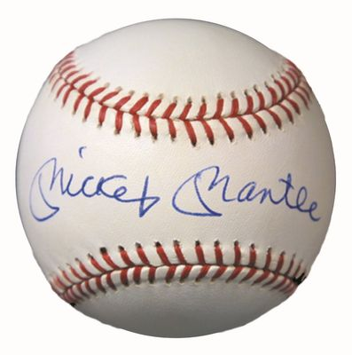 983ba5d13 Mickey Mantle. View Gallery. AUTOGRAPH ...
