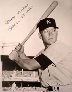 Mickey Mantle (Vintage) Signed Photo