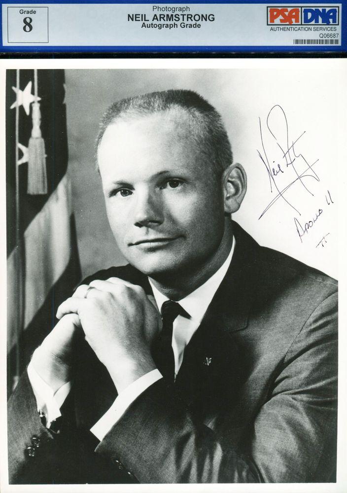 Neil Armstrong | PSA AutographFacts™