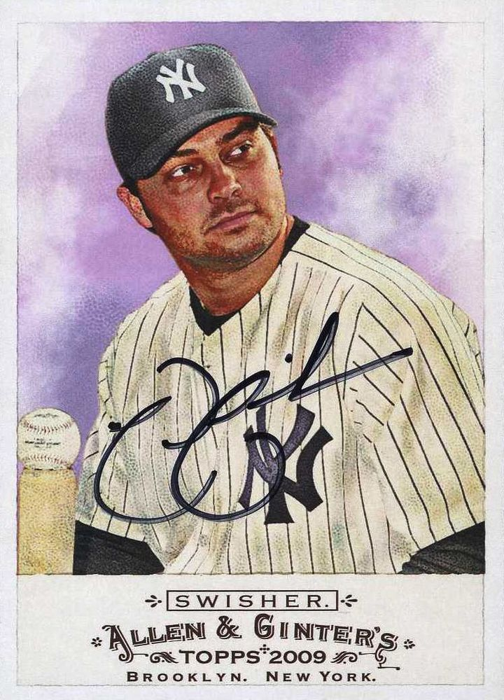 Nick Swisher Psa Autographfacts