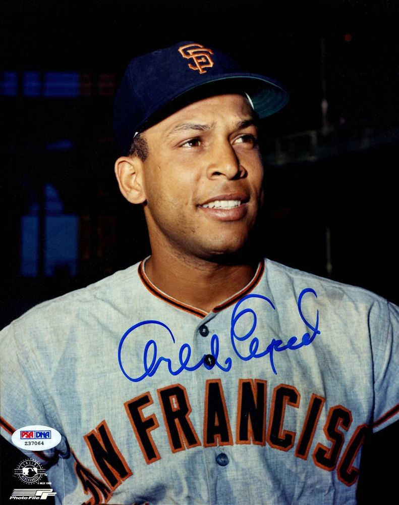 Baseball Orlando Cepeda Images Psa Autographfacts