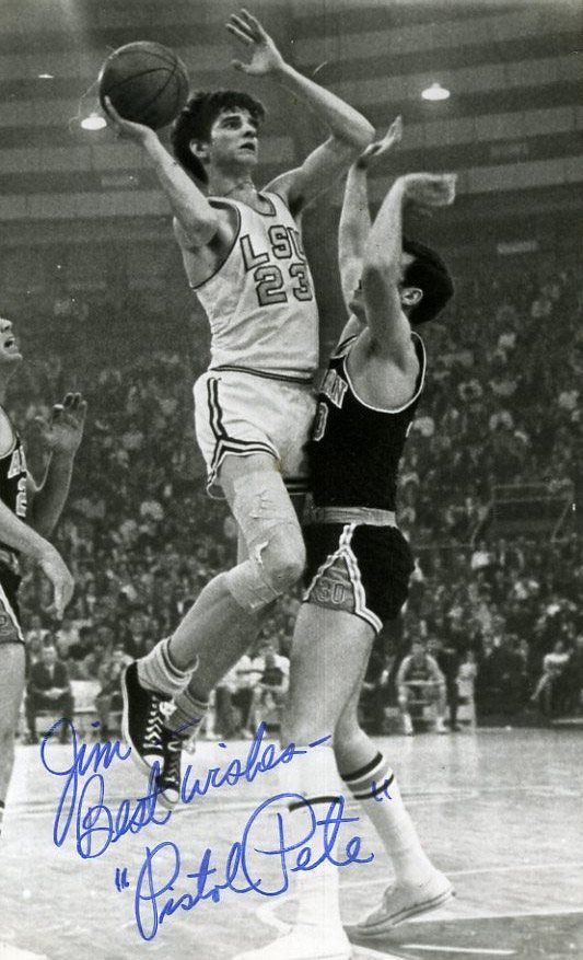 basketball - pete maravich