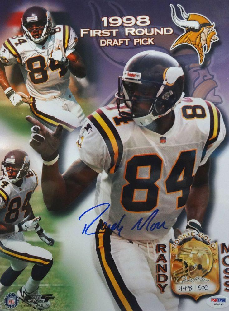 the best attitude bda7a 02348 Randy Moss | PSA AutographFacts™