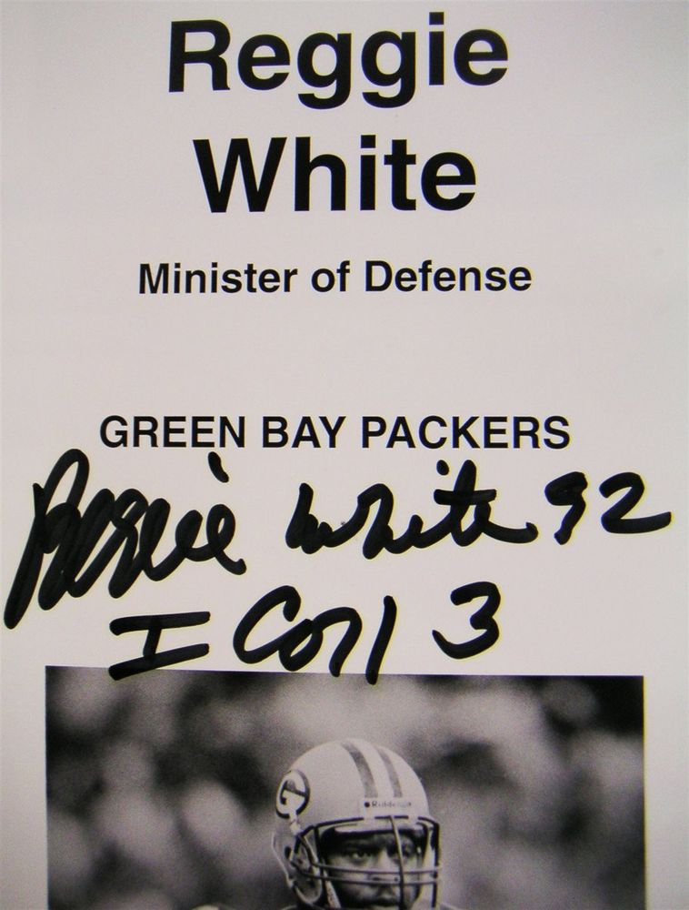 low priced 687d1 25c03 Reggie White | PSA AutographFacts™