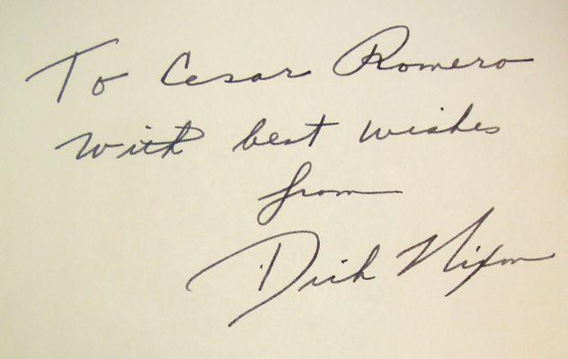 Richard M. Nixon | PSA AutographFacts™