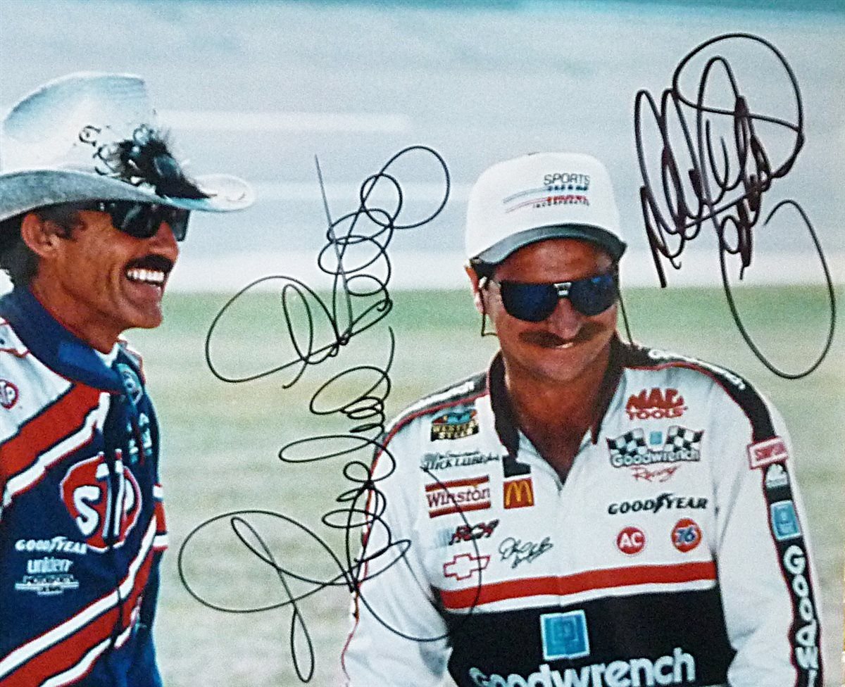 Richard Petty Motorsports >> Dale Earnhardt | PSA AutographFacts™