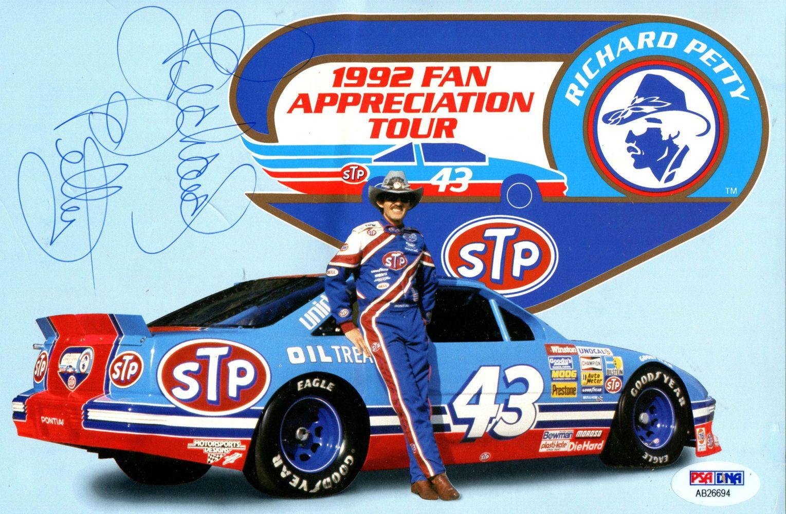 Richard Petty Motorsports >> Richard Petty   PSA AutographFacts™