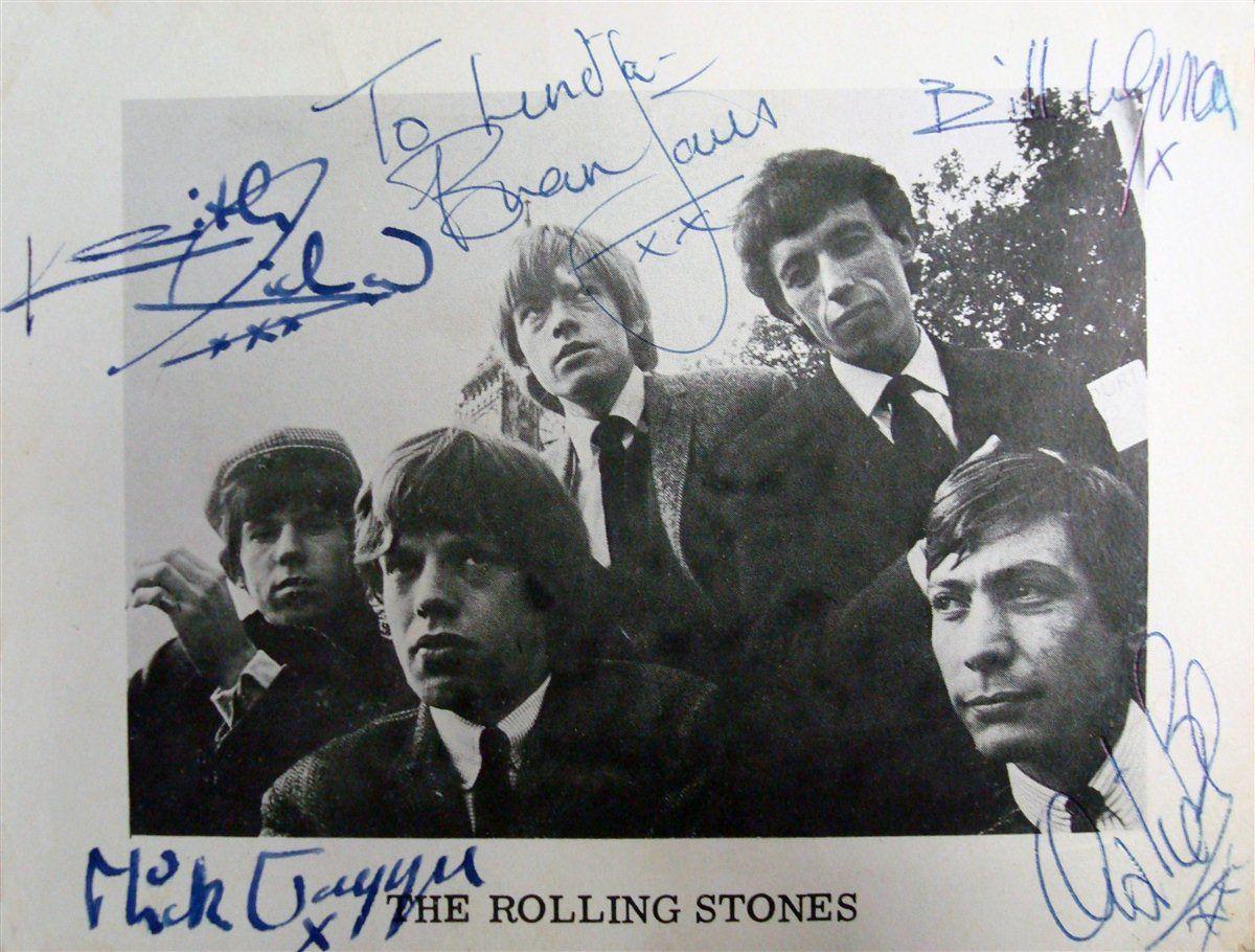 The Rolling Stones Psa Autographfacts