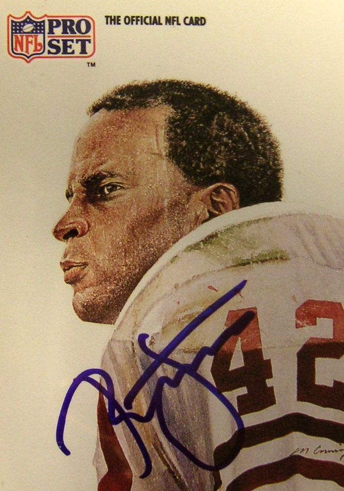 hot sale online 46be7 c1347 Football - Ronnie Lott - Images | PSA AutographFacts™