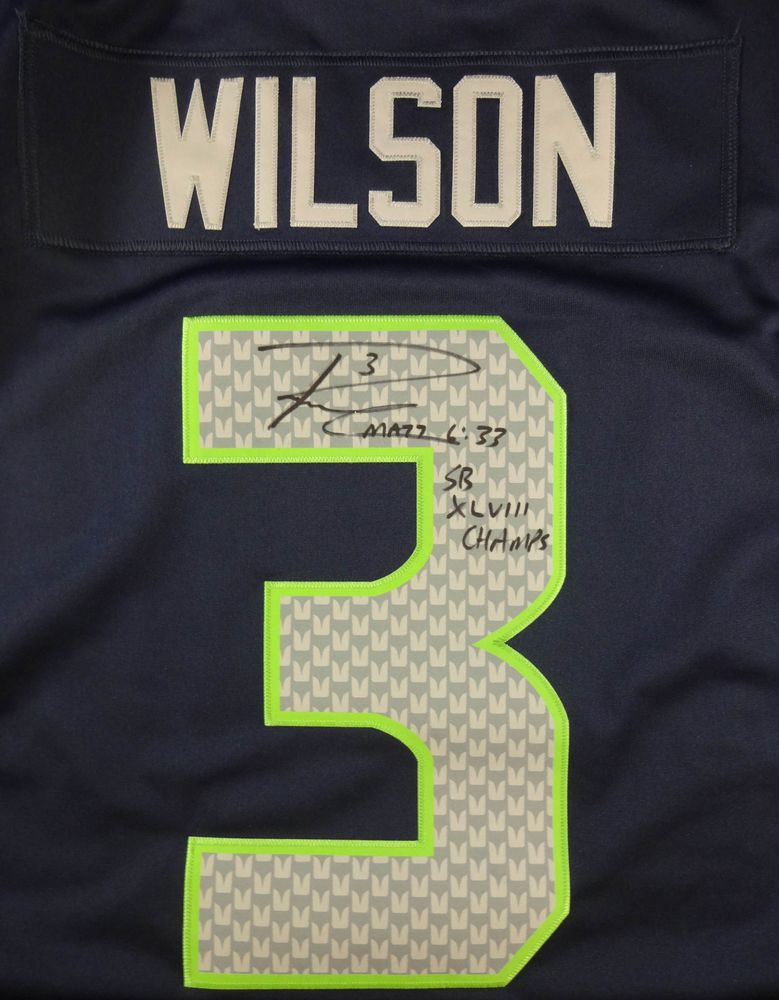 check out f918f 0a383 Football - Russell Wilson - Images | PSA AutographFacts™
