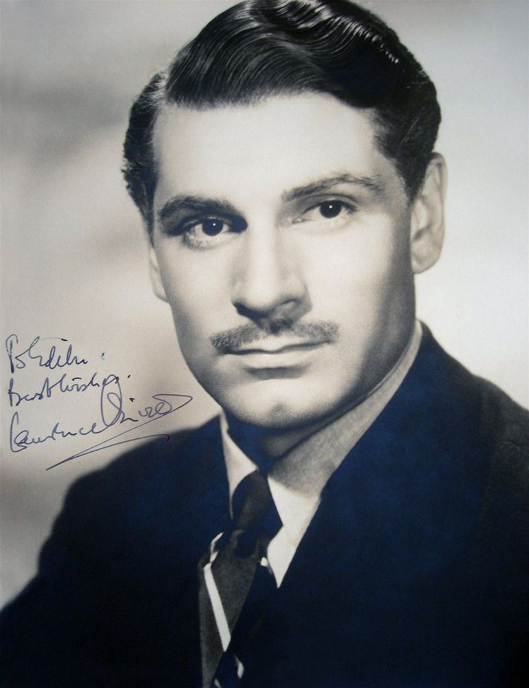 Sir Laurence Olivier Psa Autographfacts