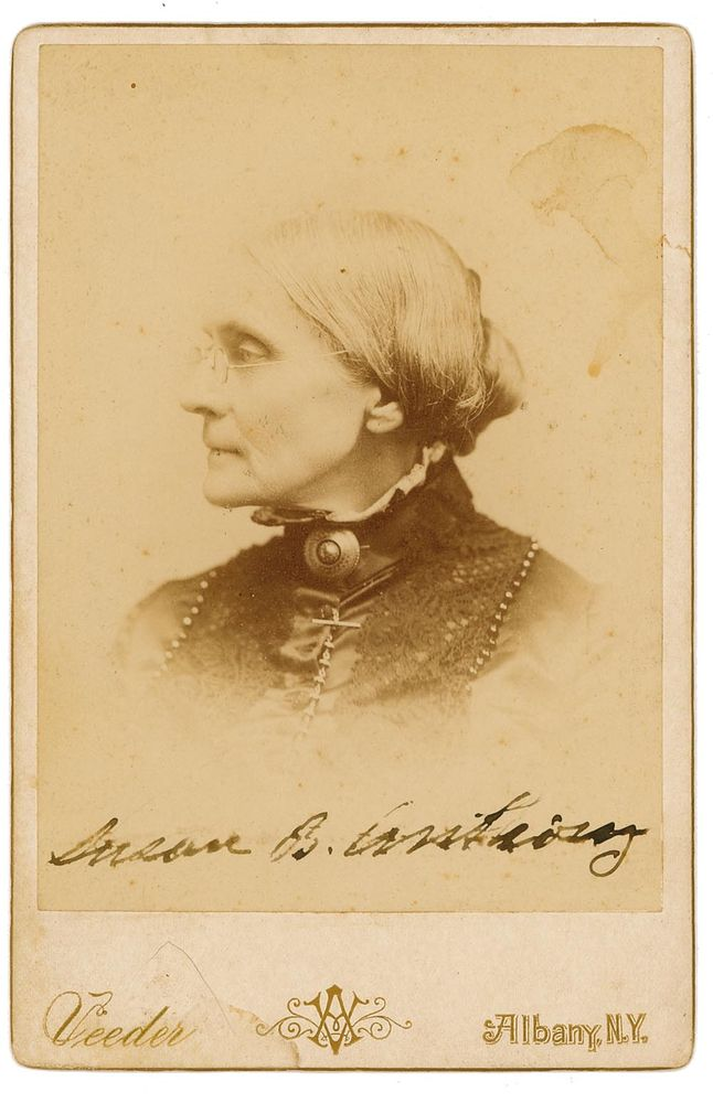 susan b anthony Anthony, susan brownell, reformer, born in south adams, massachusetts, 15 feb, 1820 daniel anthony, her father, a cotton manufacturer, was a liberal quaker, who.