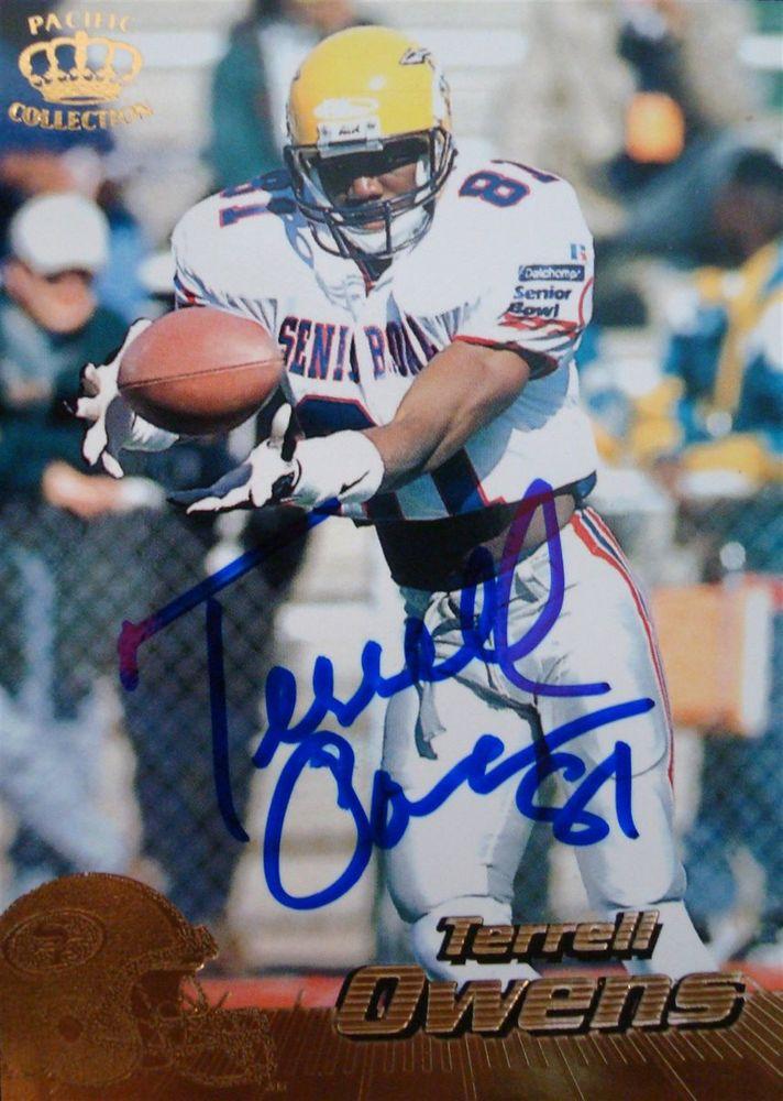 on sale 70413 f83f6 Terrell Owens | PSA AutographFacts™