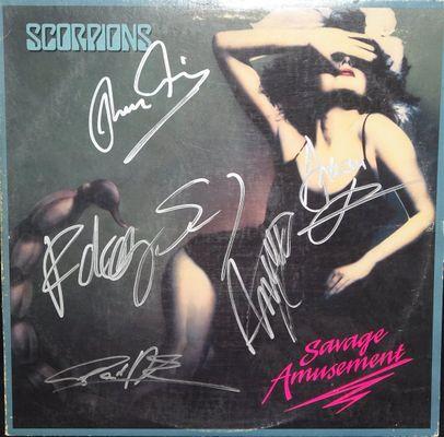 The Scorpions Psa Autographfacts