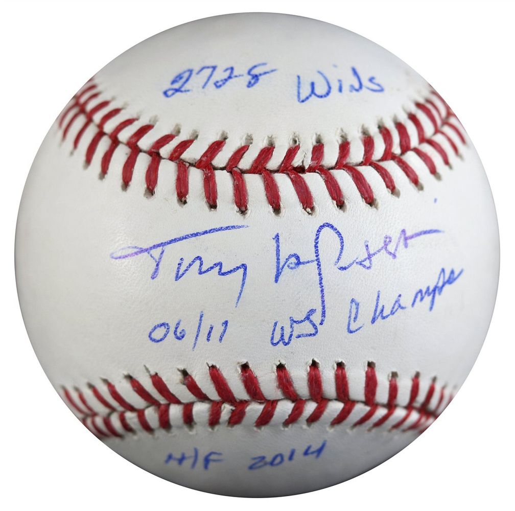 Tony Larussa Psa Autographfacts
