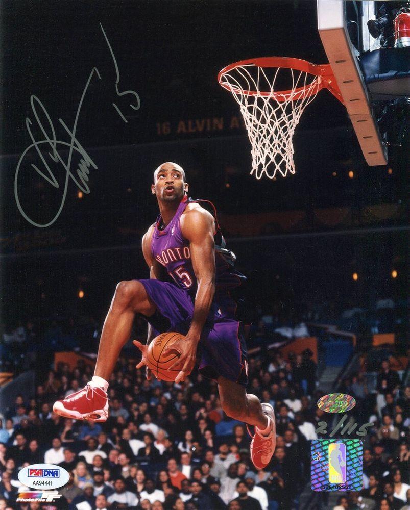 Basketball Vince Carter