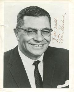 Vince Lombardi Personalized Photo