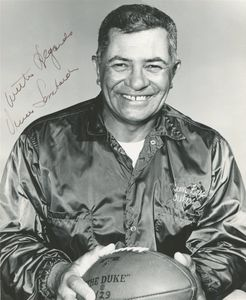 Vince Lombardi Signed Photo