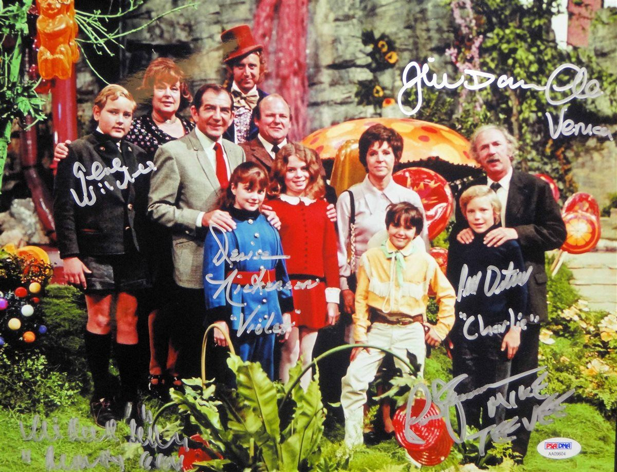Willy Wonka & the Chocolate Factory | PSA AutographFacts™