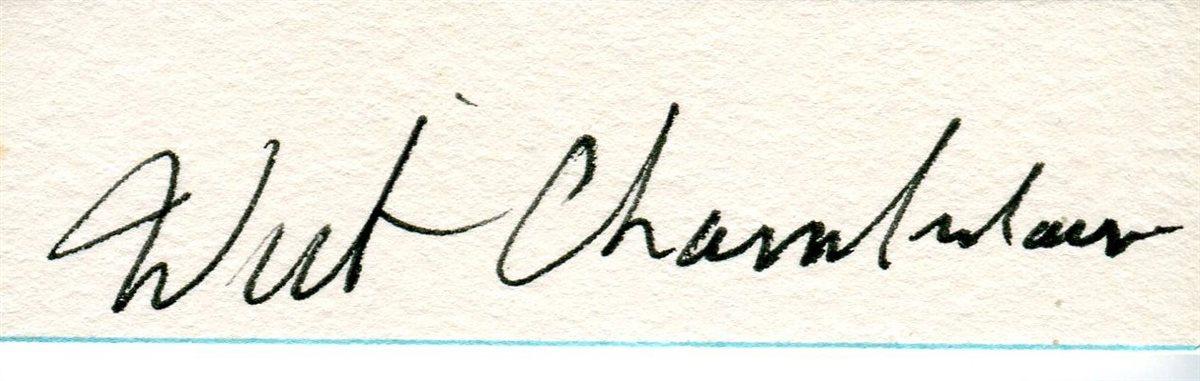 wilt chamberlain signed jersey- OFF 65