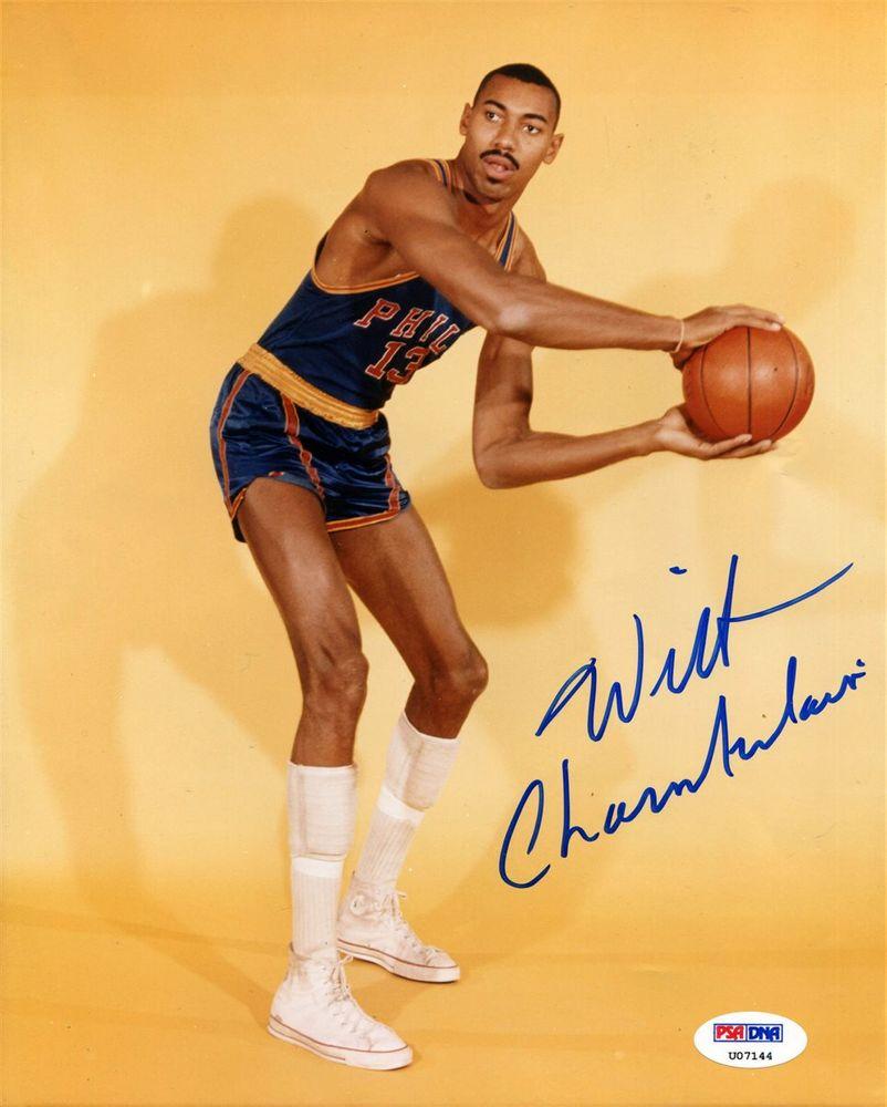 Basketball Wilt Chamberlain