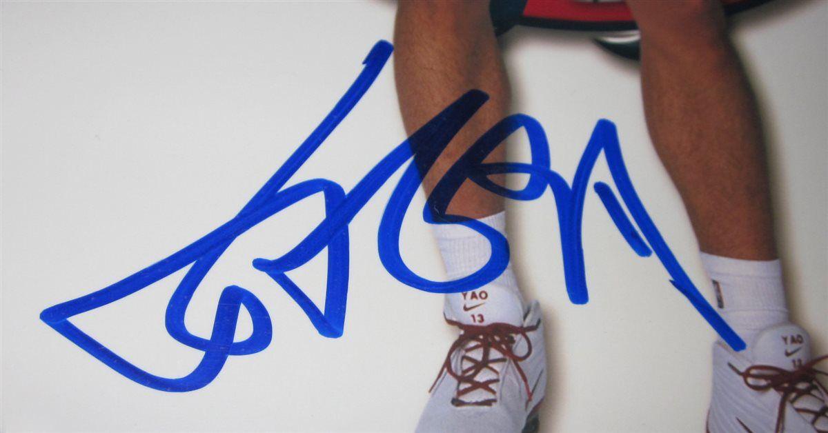 new style 4c02b 799ac Yao Ming   PSA AutographFacts™