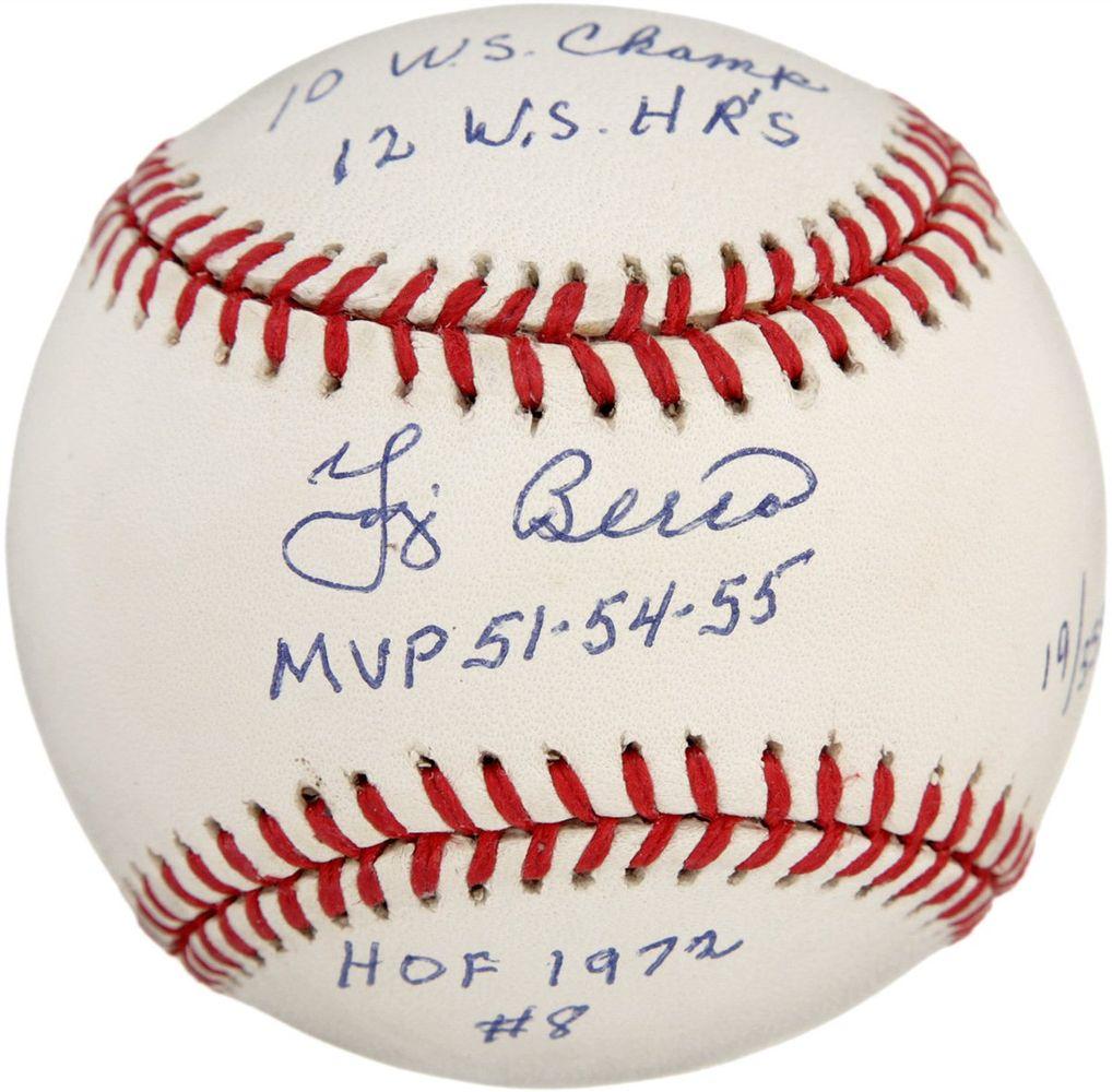 New York Yankees Memorabilia Collectibles Steiner Sports Yogi berra don larsen autographed photo
