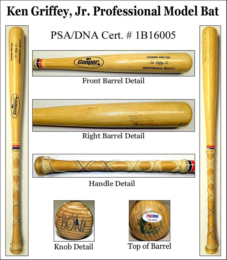 quality design 6eb22 84247 Ken Griffey, Jr. | PSA ProBatFacts™