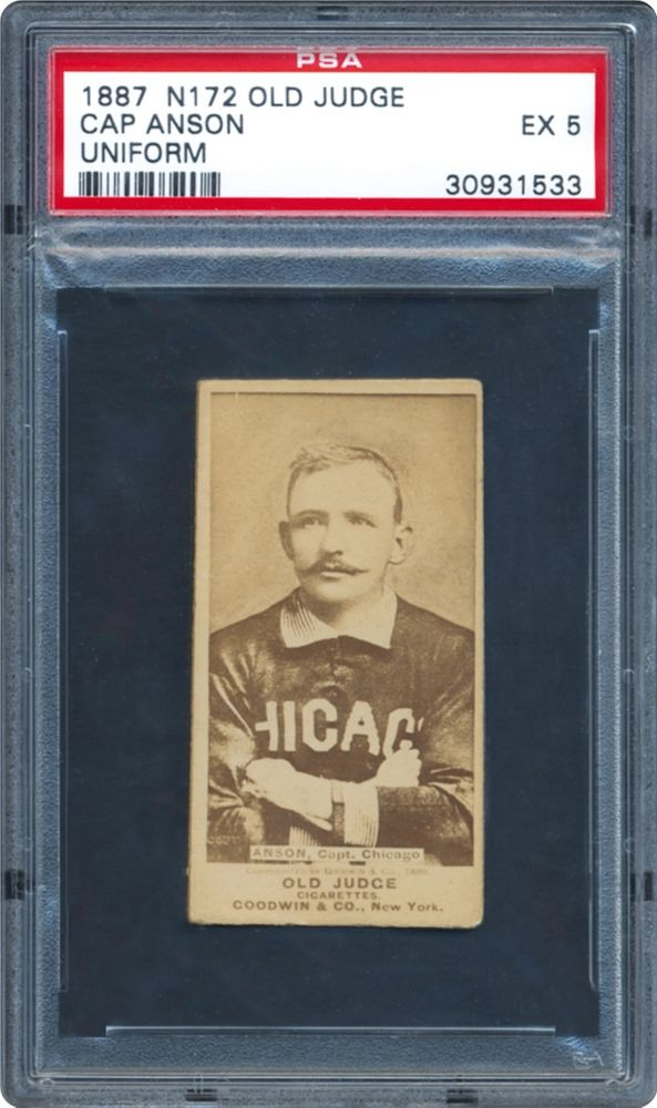 Baseball Cards 1887 Old Judge N172 Psa Cardfacts