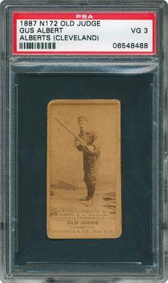 Baseball Cards 1887 Old Judge N172 Images Psa Cardfacts